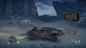 Mad Max le jeu - capture ecran