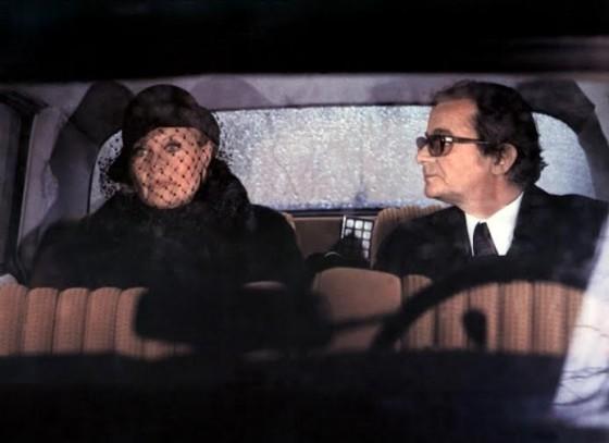 Michèle Morgan et Serge Reggiani dans Le Chat et la Souris de Claude Lelouch