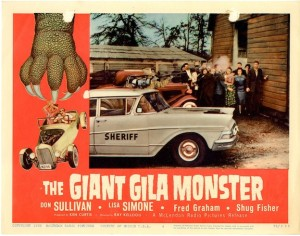 The Giant Gila Monster de Ray Kellogg