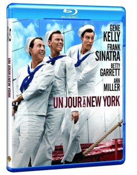 Un jour a New York - jaquette Blu-ray