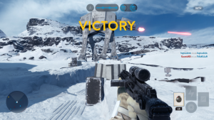 Bêta Star Wars Battlefront (Capture d'écran)