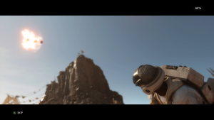Beta Star Wars Battlefront (Capture d'écran)