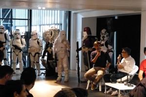 Conférence Delcourt sous surveillance imperiale - - Paris Comic Con 2015