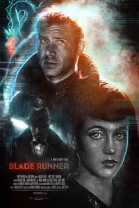 Création fan art Blade Runner par Rémy Gente