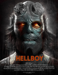 Création fan art Hellboy par Rémy Gente