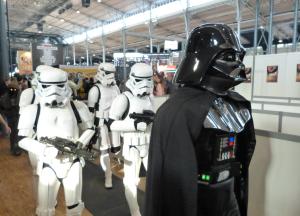 Dark Vador et sa suite - Paris Comic Con 2015