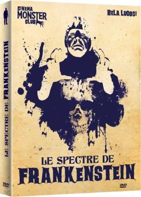 Le Spectre de Frankenstein - jaquette
