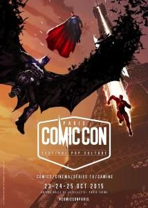 Paris Comic Con 2015 - poster