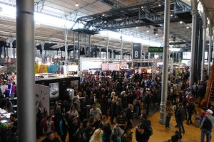 Paris Comic Con 2015 - vue aerienne1