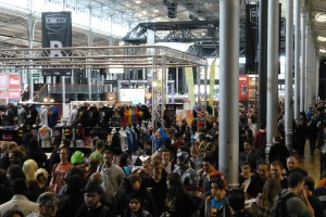 Paris Comic Con 2015 - vue aerienne
