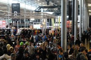 Paris Comic Con 2015 - vue aerienne