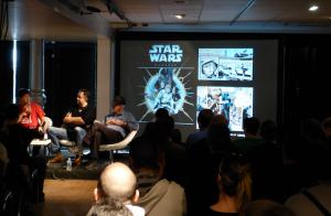 conference Delcourt Star Wars - Paris Comic Con 2015
