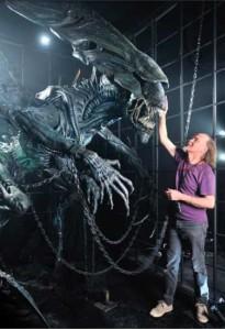 Dan Ohlmann et la Reine Alien
