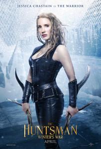 Jessica Chastain - la guerriere