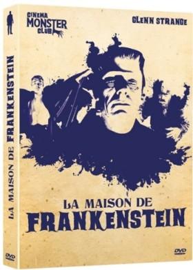 La Maison de Frankenstein - jaquette