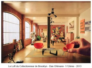 Le Loft du Collectionneur de Brooklyn de Dan Olhmann