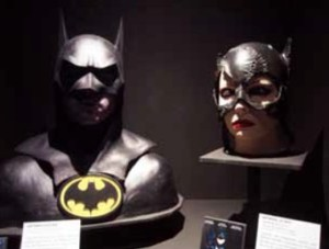 Masques de Batman et Catwoman