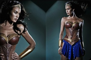 Megan Gale en Wonder Woman - projet avorte Justice League Mortal de George Miller