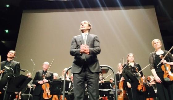 Alexandre Desplat - Philharmonie de Paris novembre 2015 / Photo Jérôme Nicod