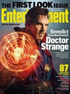 Benedict Cumberbatch - Premiere photo officielle - Doctor strange EW