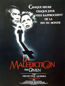 La Malédiction (The Omen) - poster