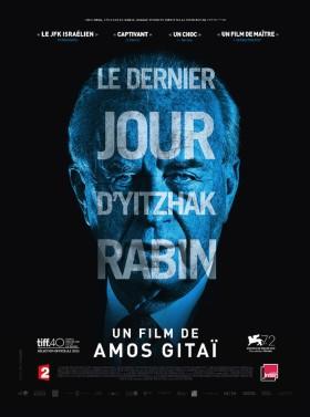 Le dernier jour de Yitzhak Rabin - affiche