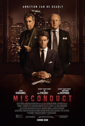 Misconduct - poster
