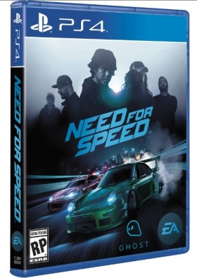 Need for Speed jeu - jaquette
