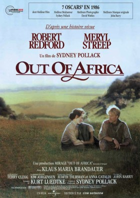 Out of Africa - affiche