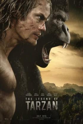 Tarzan de David Yates - affiche