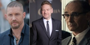 Tom Hardy, Kenneth Branagh, Mark Rylance