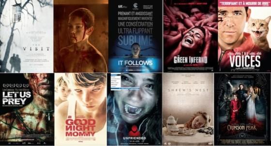top films horreur 2015