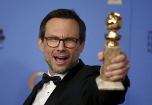 Christian Slater pour Mr Robot - Golden Globes 2016 / Photo Reuters/Lucy Nicholson