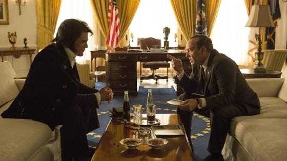 Michael Shannon et Kevin Spacey dans Elvis et Nixon