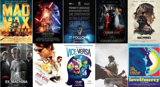 TOP 10 meilleurs films 2015 - CineChronicle