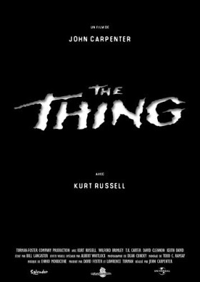 The Thing - affiche