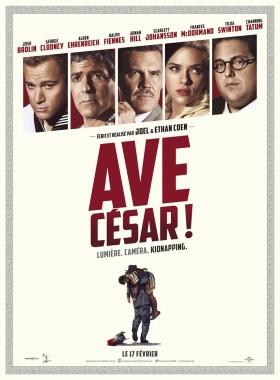 Ave Cesar! des frères Coen - affiche