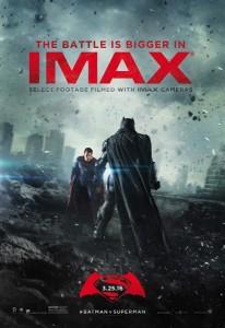 Batman v Superman - affiche Imax