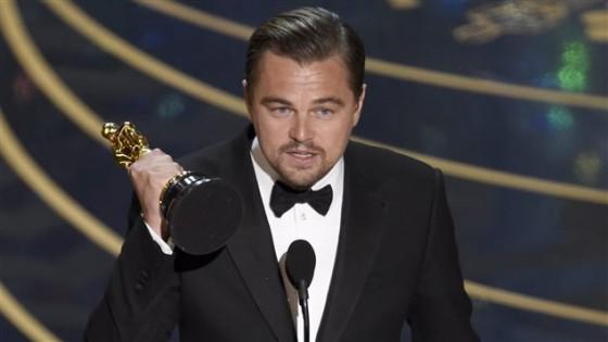 Leonardo DiCaprio, laureat pour The Revenant - Oscars 2016
