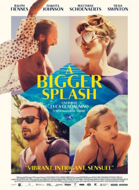 A Bigger Splash - affiche