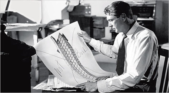 Gary Cooper dans The Fountainhead de King Vidor (1949)