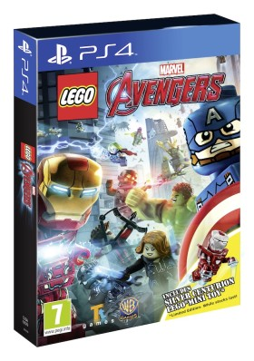 LEGO Marvel's Avengers - jaquette PS4