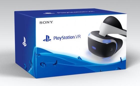 Le casque de réalité virtuelle PlayStation VR disponible en octobre 2016 - Packshot Sony