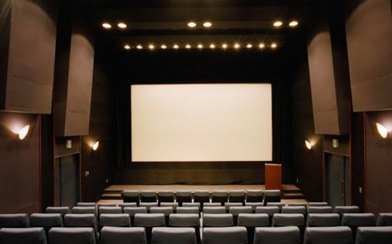 The Screening Room, le cofondateur de Napster veut révolutionner l'industrie du cinéma / Photo Salle de cinema vide