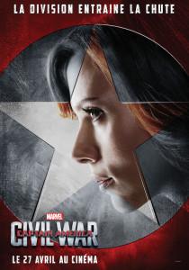 Veuve Noire - Captain America Civil War