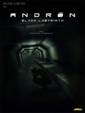 Andron The Black Labyrinthe - premier poster