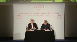 Thierry Frémaux et Pierre Lescure - Conférence Cannes 2016