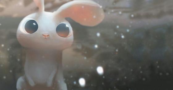 Invasion de Eric Darnell - lapin blanc