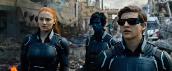 Jean Grey (Sophie Turner) et Cyclope (Tye Sheridan) - X-Men Apocalypse