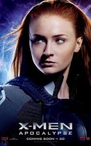 Jean Grey (Sophie Turner- poster X-Men Apocalypse